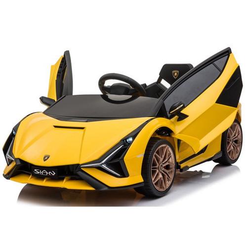 Lamborghini Sian Yellow