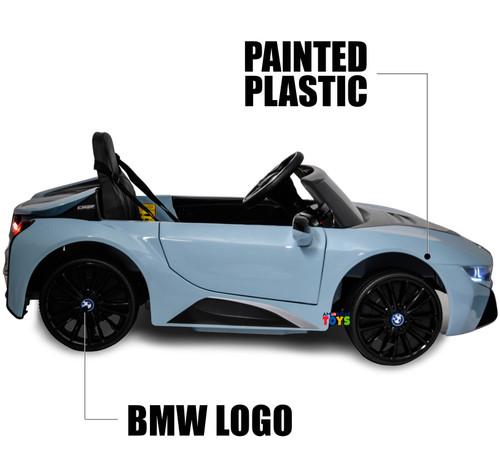 BMW i8 Coupe Blue