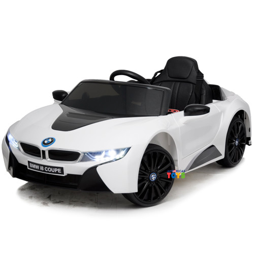 BMW i8 Coupe White