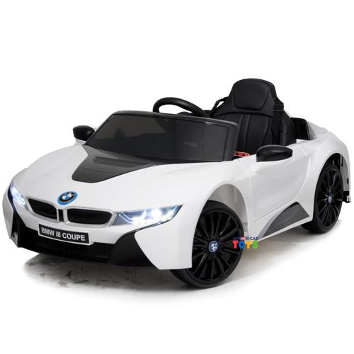 BMW i8 Coupe White