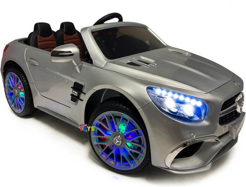 Mercedes SL65 silver ride on