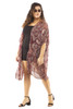 Women's Plus Size Chiffon Flow All Day Kimono