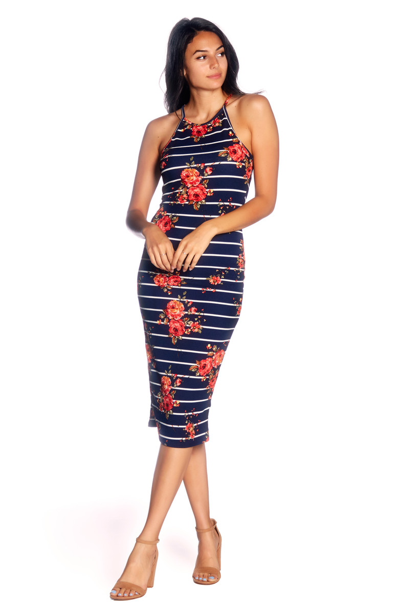 NAVY IVORY CORAL 419