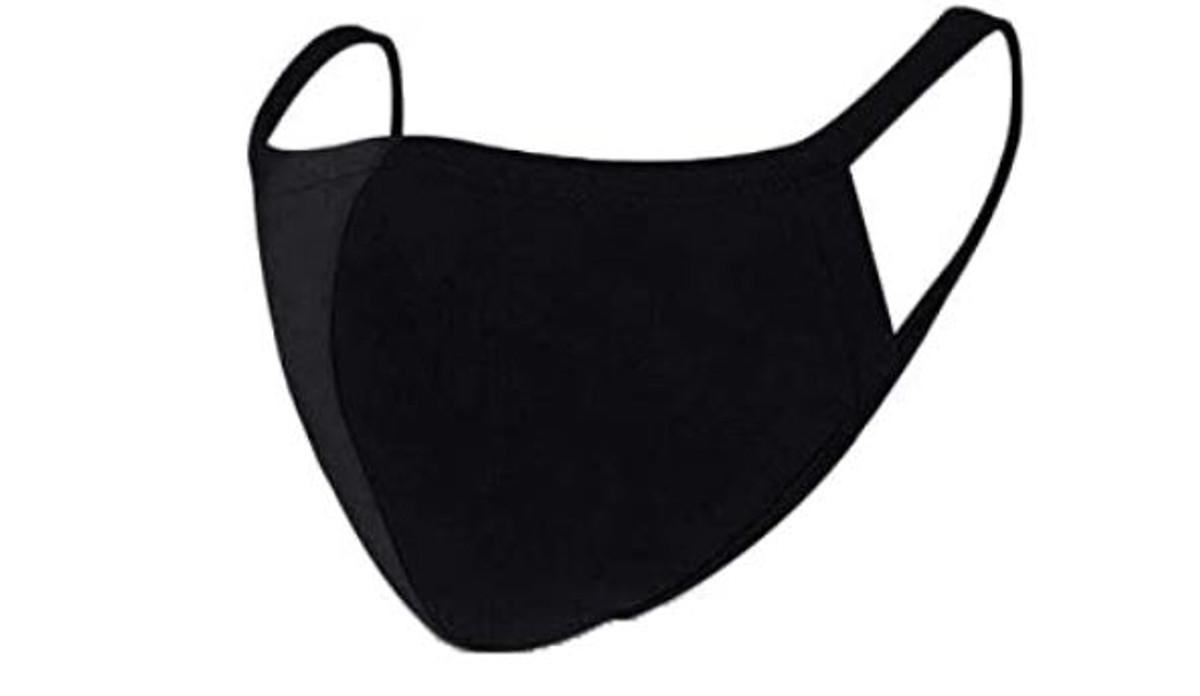 2 Layer Reusable Mask-Black
