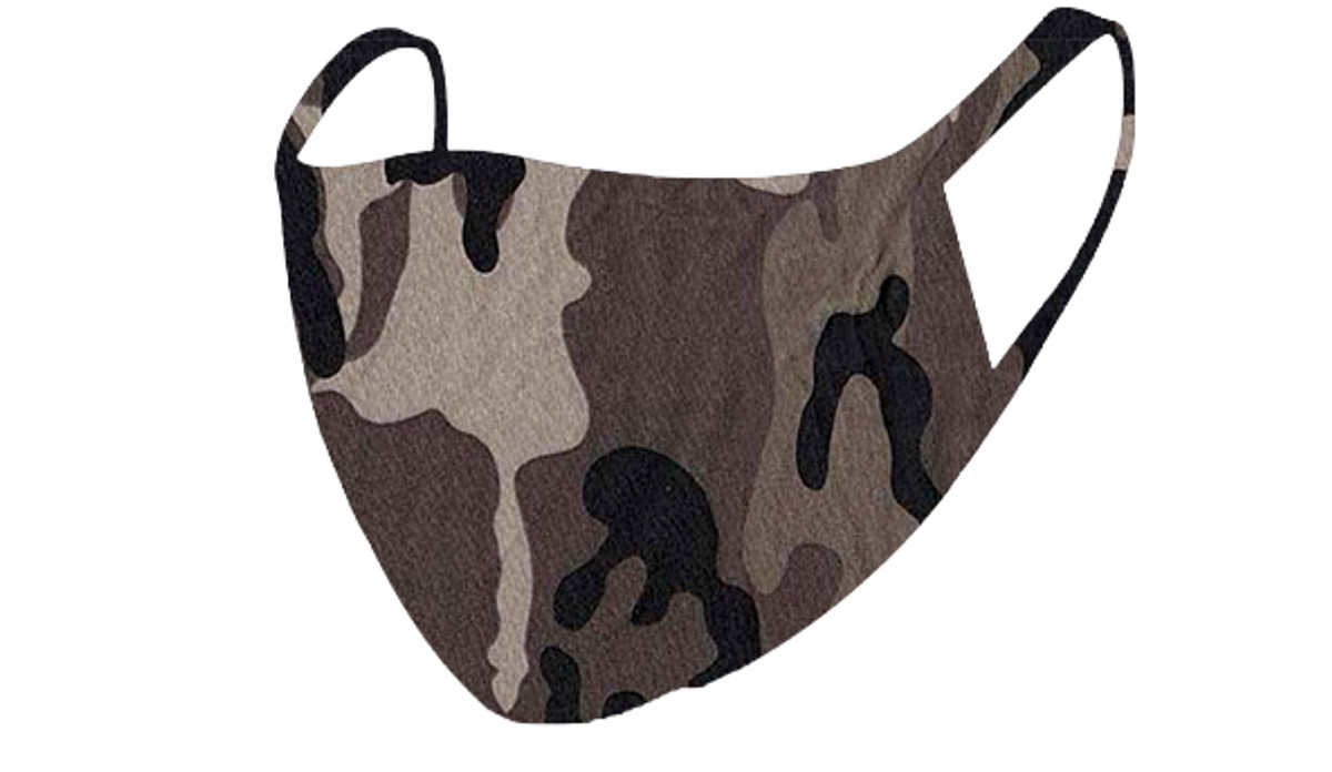 2 Layer Reusable Mask-Camouflage