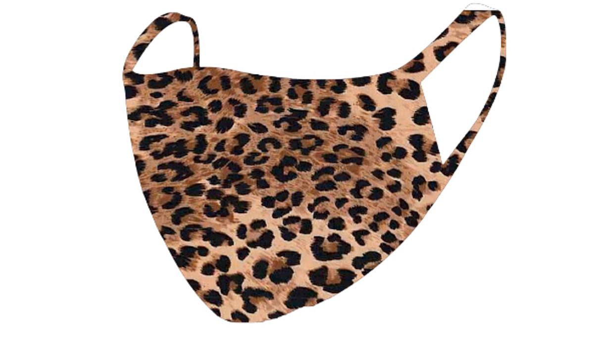 2 Layer Reusable Mask-Cheetah