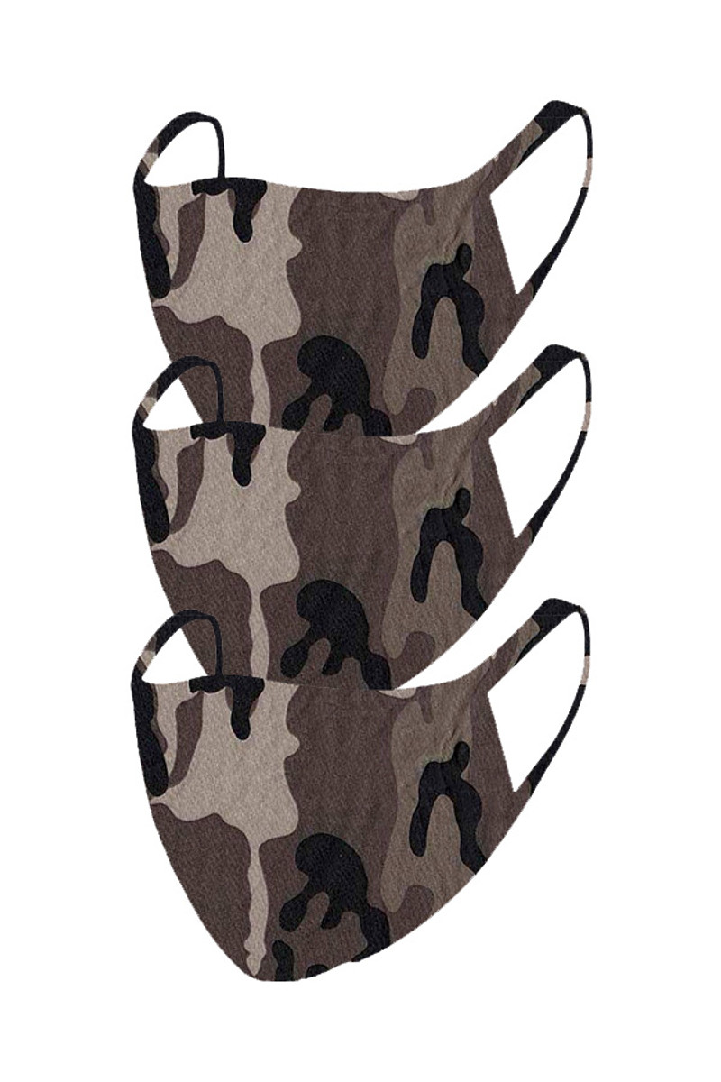 2 Layer Reusable Mask-Camouflage (3 Pack)