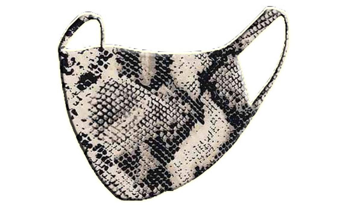 2 Layer Reusable Mask- Snake