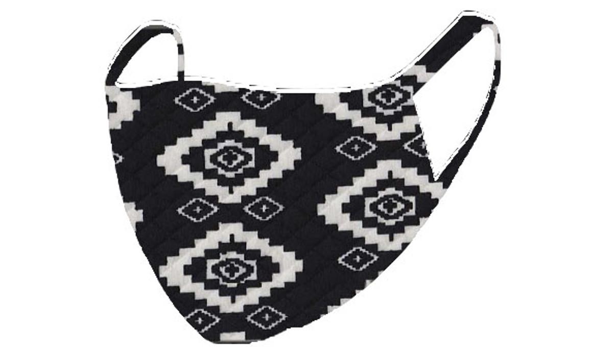 2 Layer Reusable Mask- Aztec Quilt