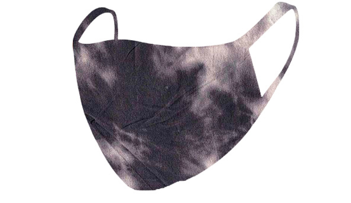 2 Layer Reusable Mask-Charcoal Tie Dye
