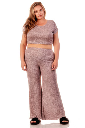 Affordable Marled Co Ord Set