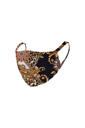 2 Layer Reusable Mask-Versace