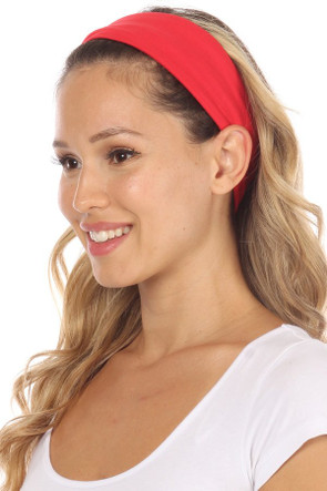 Fashion Neck Gaiter and Face Covering (3 Pack) -Red Solid