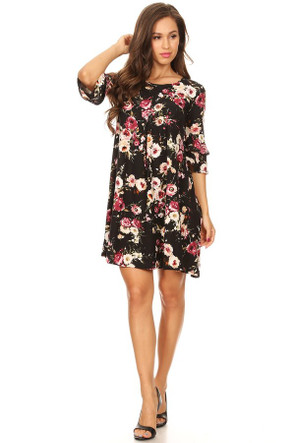 Double Bell Swing Dress