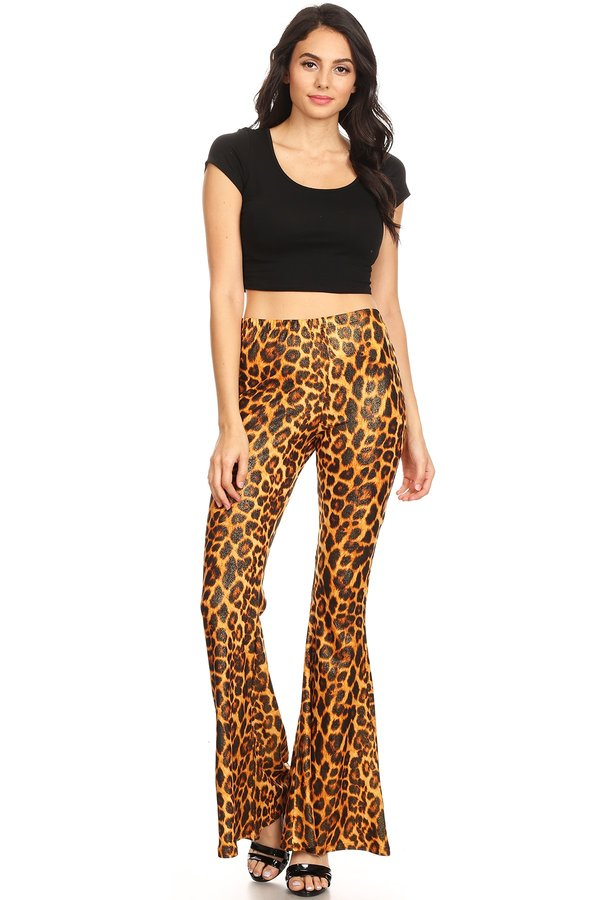 848b4aff68 Glittery Animal Print Wide Leg Flare Pant. Tap to expand. Previous. GOLD  GOLD 20350. GOLD GOLD 20350. GOLD GOLD 20350