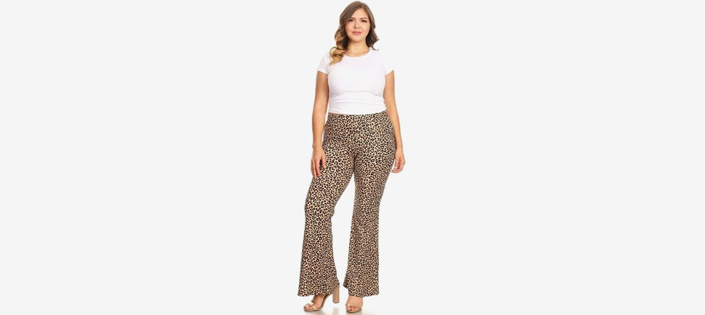 High Waisted Flare Pants | Latest Fashion for Plus Size Women