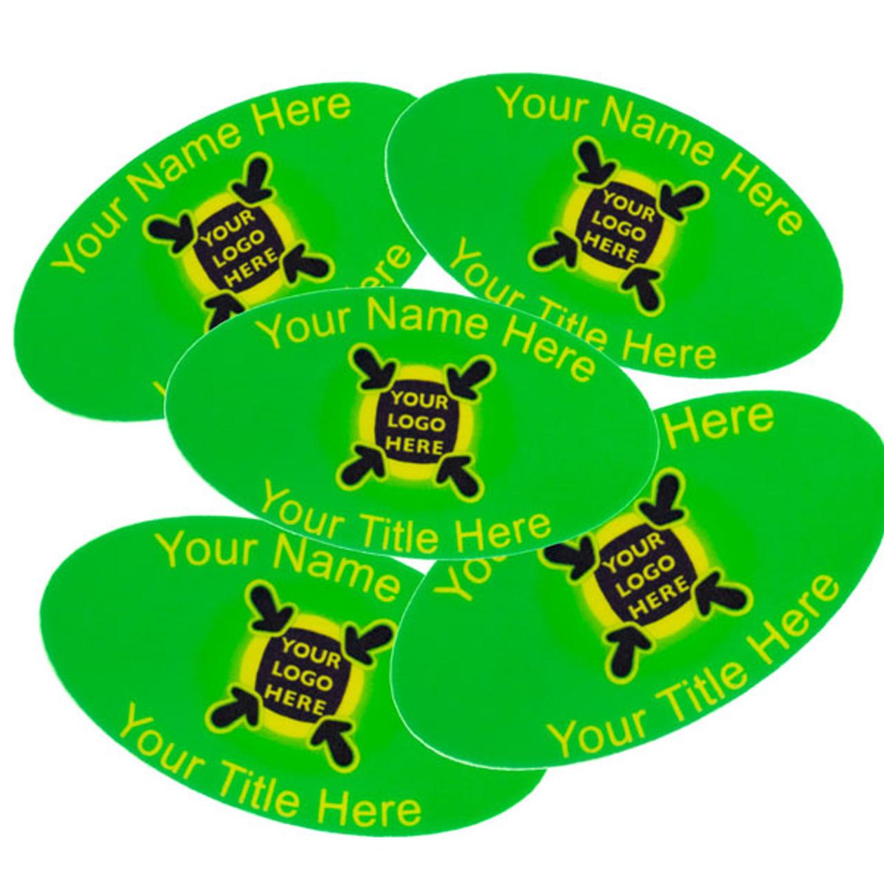 Oval Name Badge Full Colour