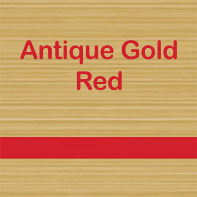 Antique Gold - Red