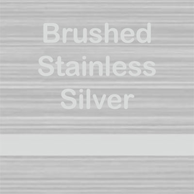 Brushed Stainless - Silver