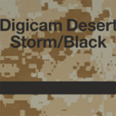 Digicam Desert Storm - Black