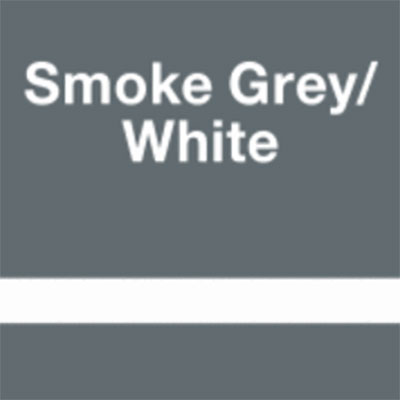 Smoke Grey - White