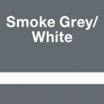 Smoke Grey - White