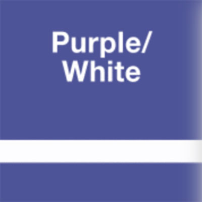 Purple - White