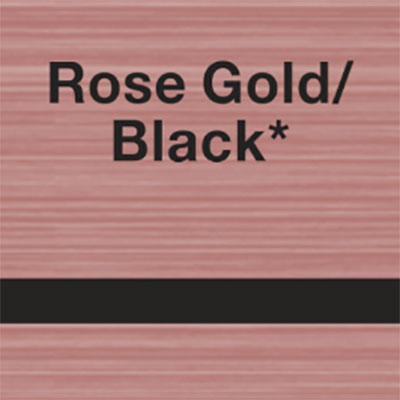 Rose Gold - Black
