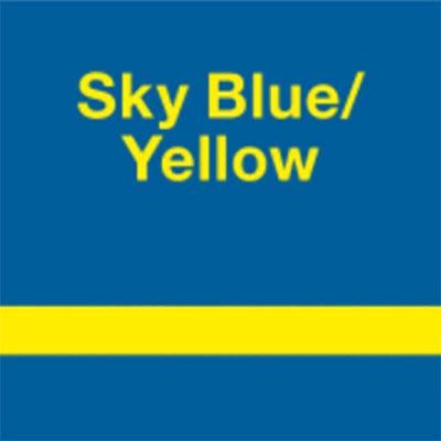 Sky Blue - Yellow