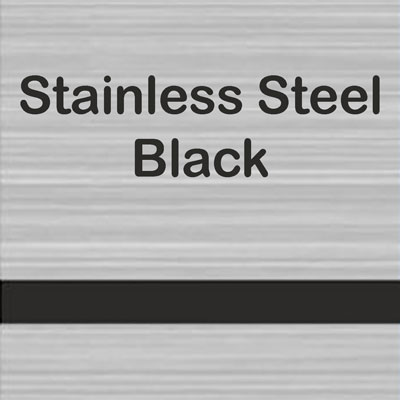 Stainless Steel - Black