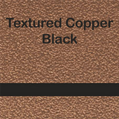 Textured Copper - Black