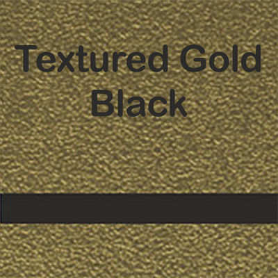 Textured Gold - Black