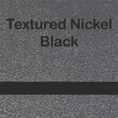 Textured Nickel - Black