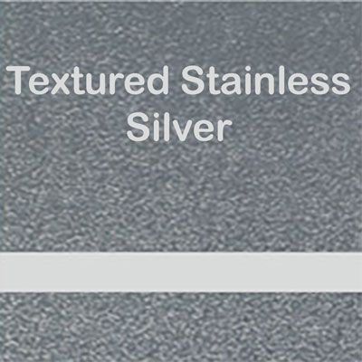Textured Stainless - Silver
