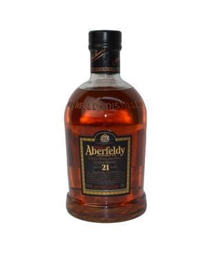 Aberfeldy Scotch Whiskey 21 year