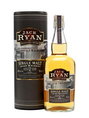Jack Ryan Irish Whiskey 12 Year