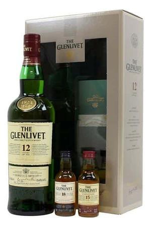 Glenlivet 12 Year Gift Box