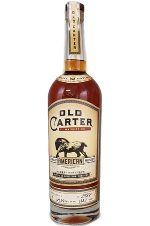 Old Carter Straight American Whiskey 12 Year Batch No. 3