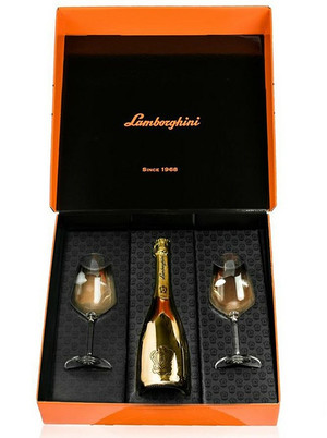 Lamborghini Brut Champagne Gift Box