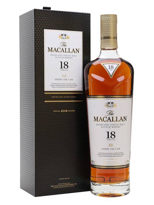 Macallan 18 Year (2018 release)