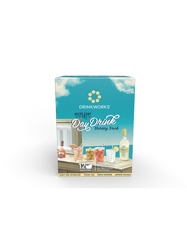 Drinkworks Deep Eddy Day Drink Variety Pack (12 Pods)