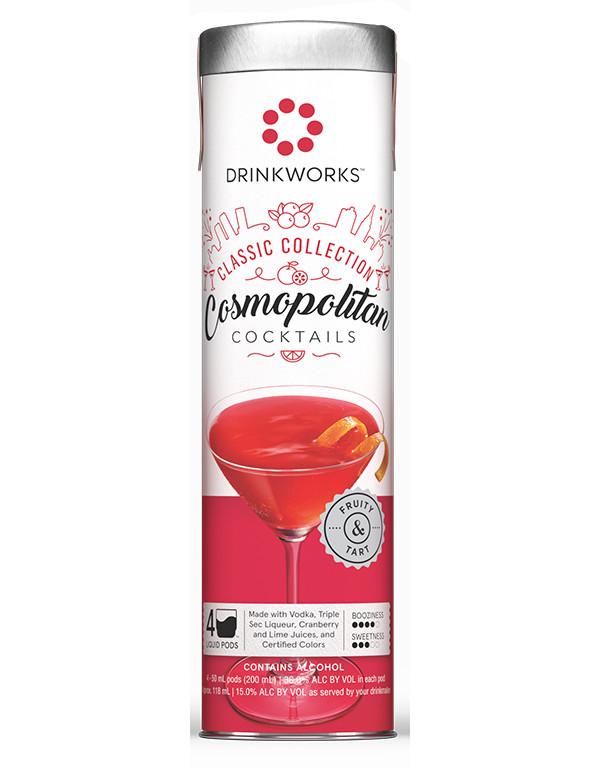 Drinkworks Cosmopolitan Tube (4 pack pods)
