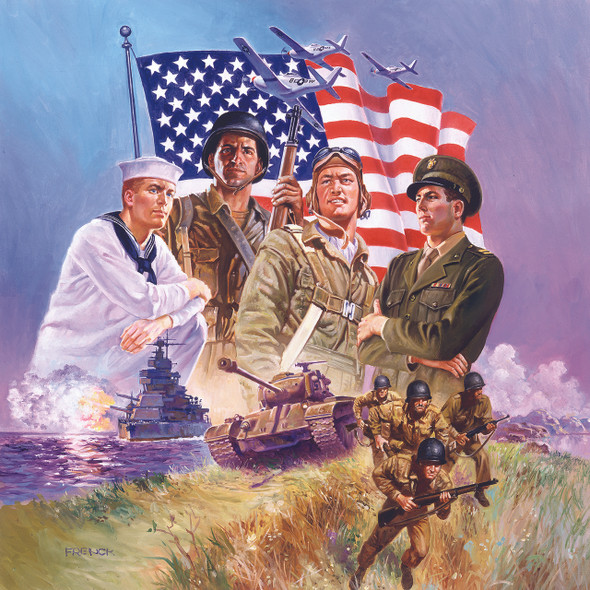 The Armed Forces 500 pc Jigsaw Puzzle # 67112