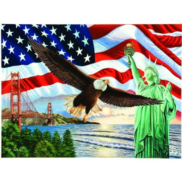 From Sea to Shining Sea 1000 pc Jigsaw Puzzle # 45826