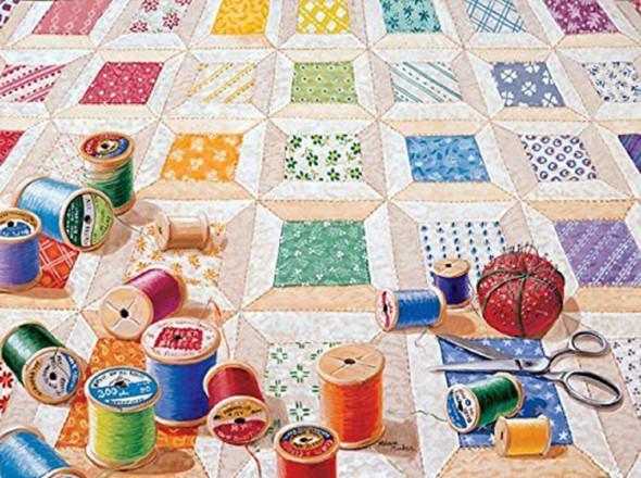 SunsOut 24218 1000 Piece Puzzle Spools Jigsaw Puzzle