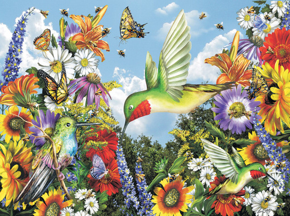 Save the Bees 300 pc Jigsaw Puzzle by SUNSOUT INC