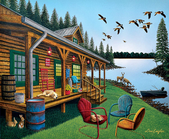 SUNSOUT INC Break of Day 300 pc Jigsaw Puzzle by Artist: Don Engler