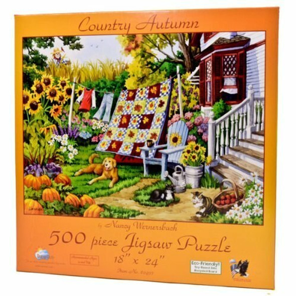Country Autumn  500 pc Jigsaw Puzzle