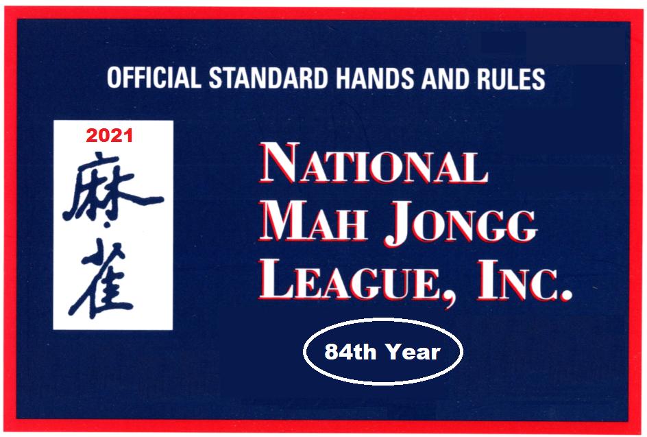 National Mah Jongg Leage 2021 Card
