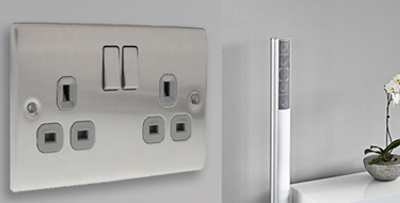 Raised Plate Switches & Sockets - The Socket Centre